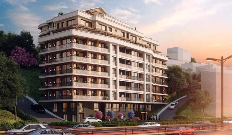 Istanbul City Centre Apartments For Sale