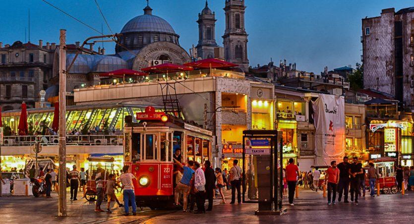 Taksim Istanbul Turkey