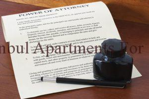 power of attorney in Turkey