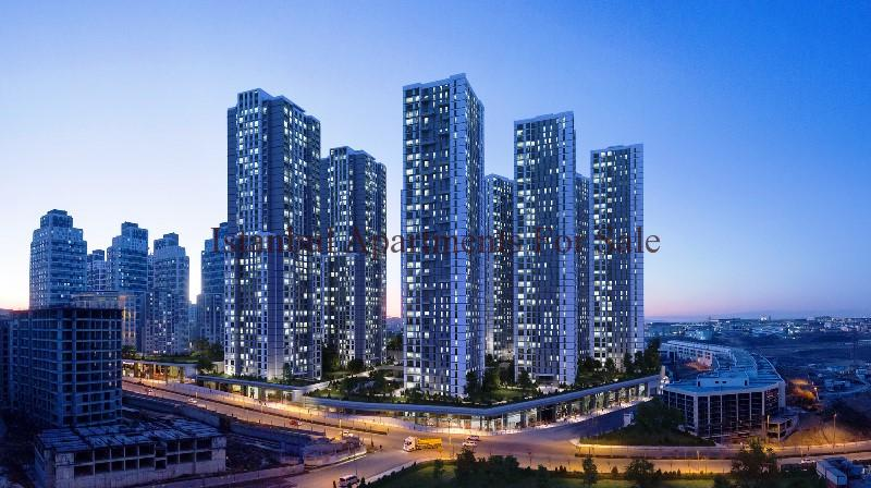 High Rise Off Plan Investment Apartments in Istanbul For Sale