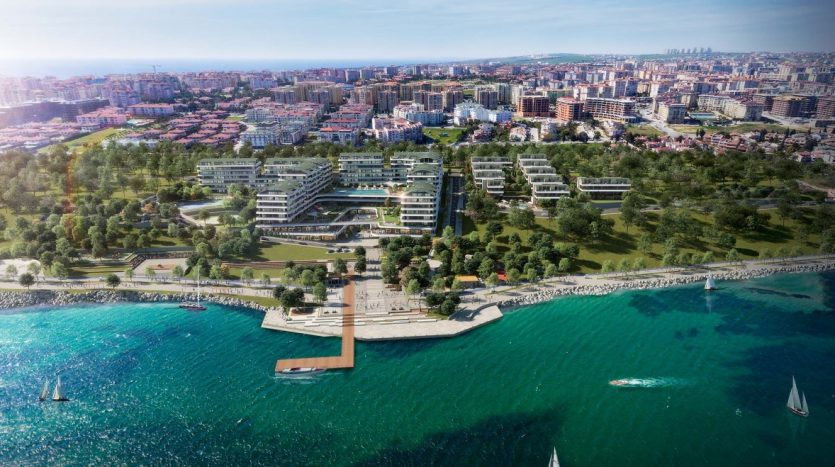 Marina Homes Apartments For Sale in Istanbul European Side