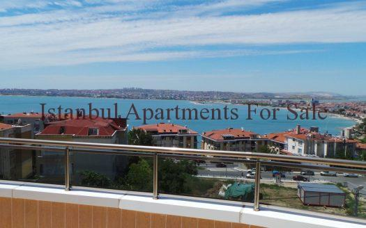 Seaview Apartments in Istanbul For Sale Close to Marina