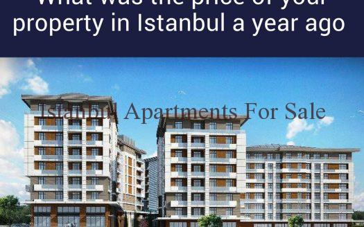 What was the price of your property in Istanbul a year ago