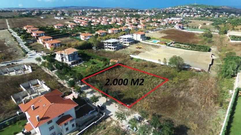 villa plot in Istanbul Turkey