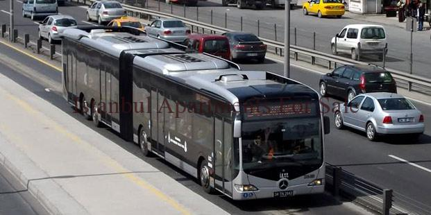 new metrobus lines in Istanbul