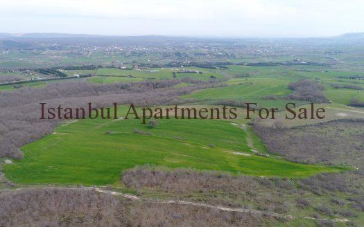 Land for sale in Istanbul next to forest