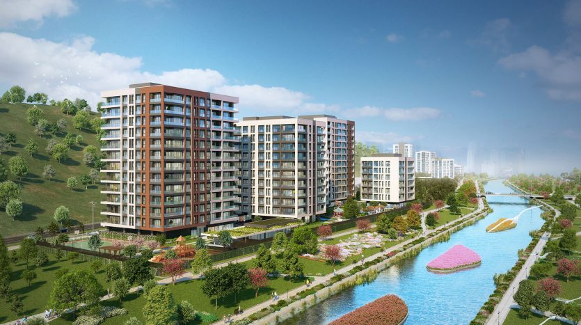Apartments in Kagithane Istanbul
