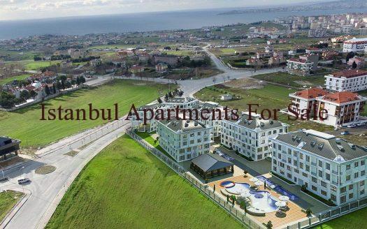 Cheap Seaview Apartments For Sale in Istanbul Beylikduzu