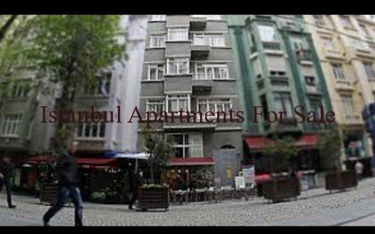 Commercial Apartment Building For Sale in Taksim Istanbul