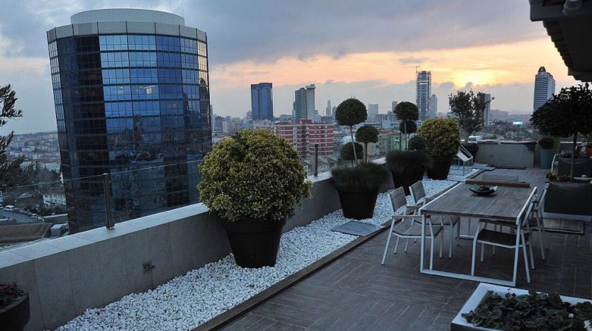Prestigious Istanbul City Centre Apartment For Sale in Etiler