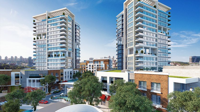 Modern Family Apartments For Sale in Bahcesehir Greenery Area
