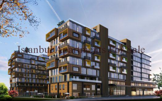 Mixed Use Investment Apartments in Istanbul Avcilar with Seaview