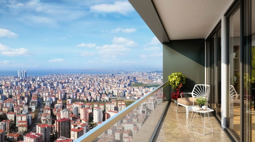 High Rise Top Quality Apartments in Istanbul Asian Side