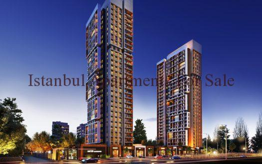 Modern Apartments For Sale in Istanbul Basin Express Close to Metro