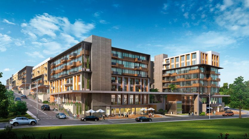 Low Rise Mixed Use Real Estate Apartments in Istanbul Esenyurt