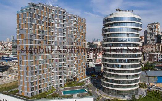 Ready Apartments to Buy Istanbul City Centre Kagithane