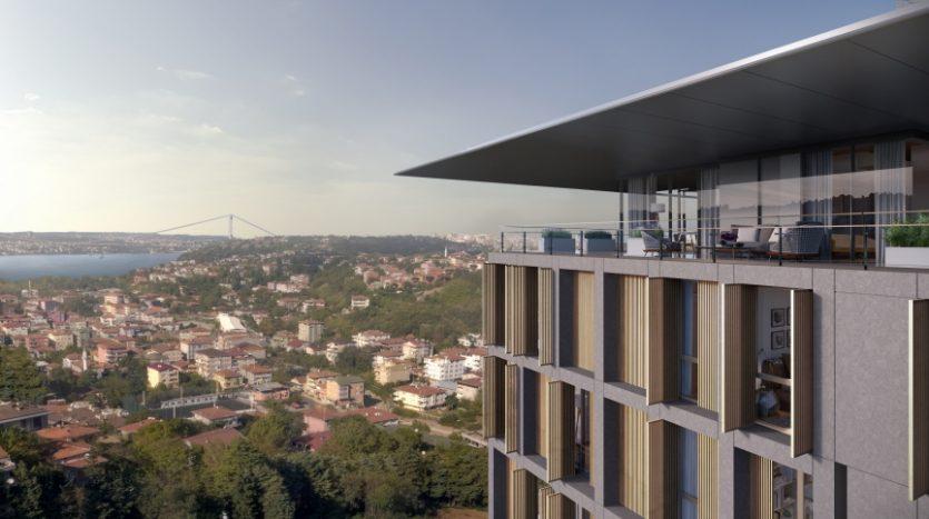 luxury houses for sale in bosphorus uskudar