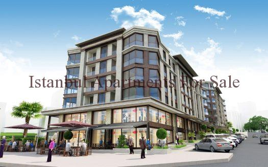 New Boutique Apartments in Istanbul Gaziosmanpasa For Sale