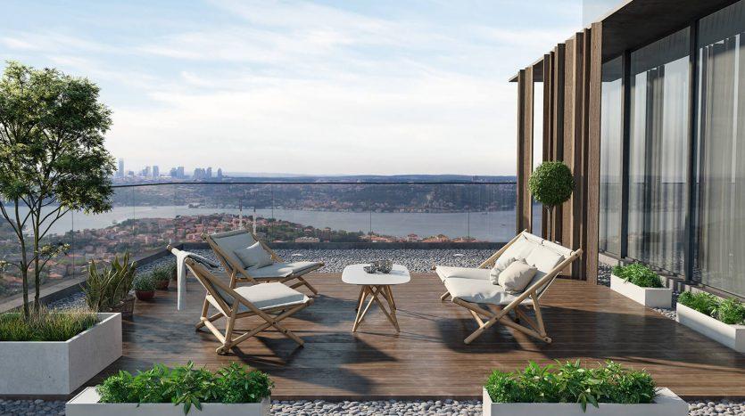 Bosphorus views homes for sale in Istanbul Beykoz