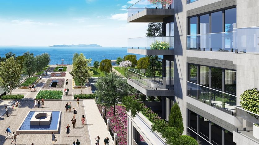 Luxury Designer Seaview Apartments in Istanbul Government Guarantee