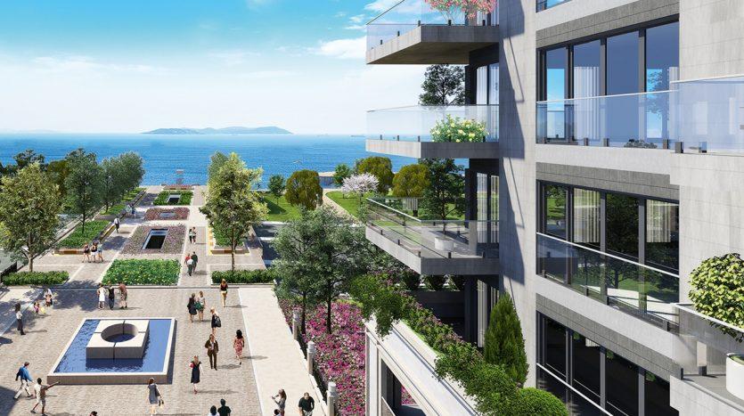 Luxury Designer Seaview Apartments in Istanbul Government Guarantee
