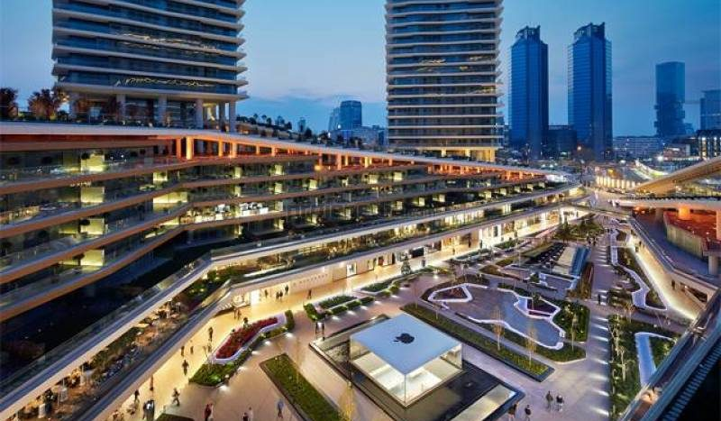 Luxury Flat For Sale in Istanbul Zorlu Center