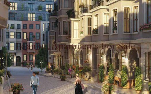 Taksim apartments for sale in Istanbul