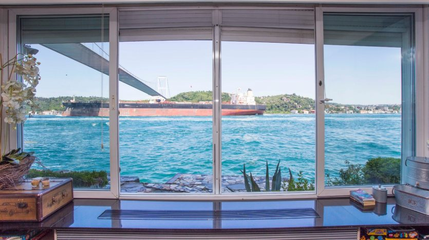 Exclusive sea front Bosphorus homes for sale 2 bedroom