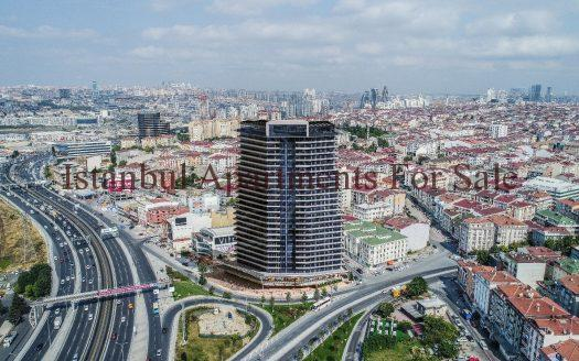 Sea view flats for sale in Istanbul 36 months installments