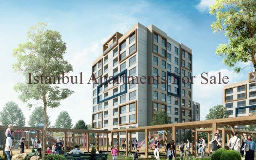 Government guarantee apartments in Basaksehir Istanbul excellent price