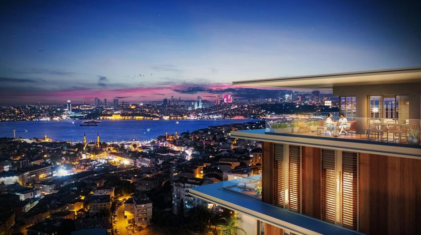 Prestigious city centre apartments in Uskudar Istanbul Asian side