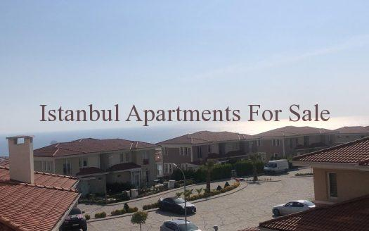 Bargain sea view apartments in Istanbul for sale