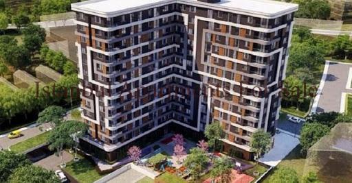 Modern city center apartments in Istanbul Topkapi