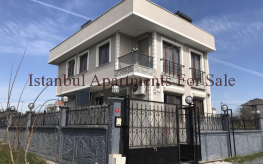 Seaview villa for sale in Istanbul European side