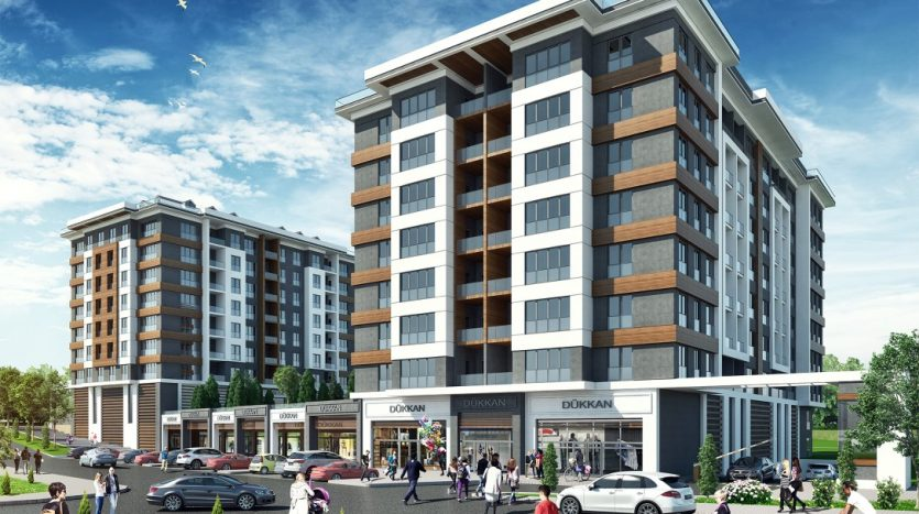 modern apartments in Istanbul Avcilar