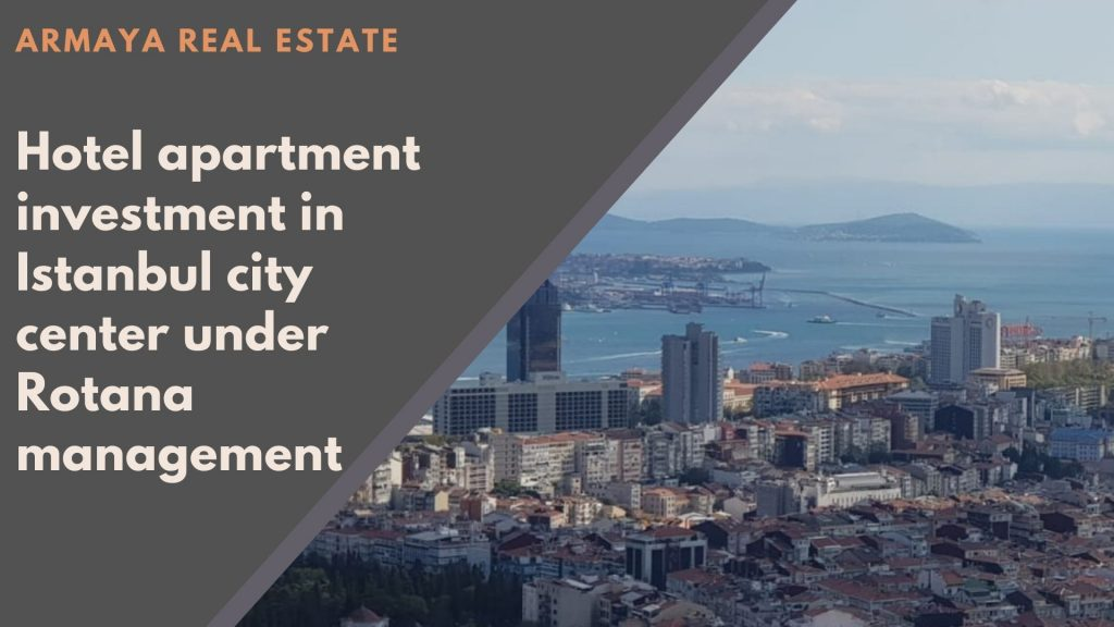 hotel apartments for sale in Istanbul city center