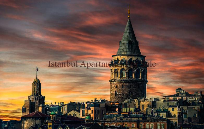 Beauties of Istanbul Galata Tower