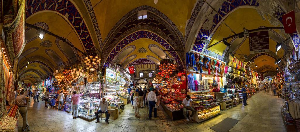 inside of Grand Bazaar