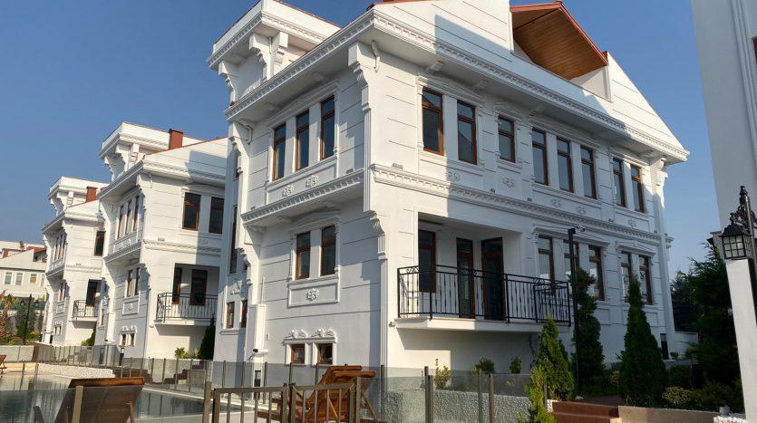 triplex villas Istanbul for sale