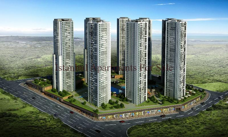 High Rise Off Plan Investment Apartments in Istanbul For ...